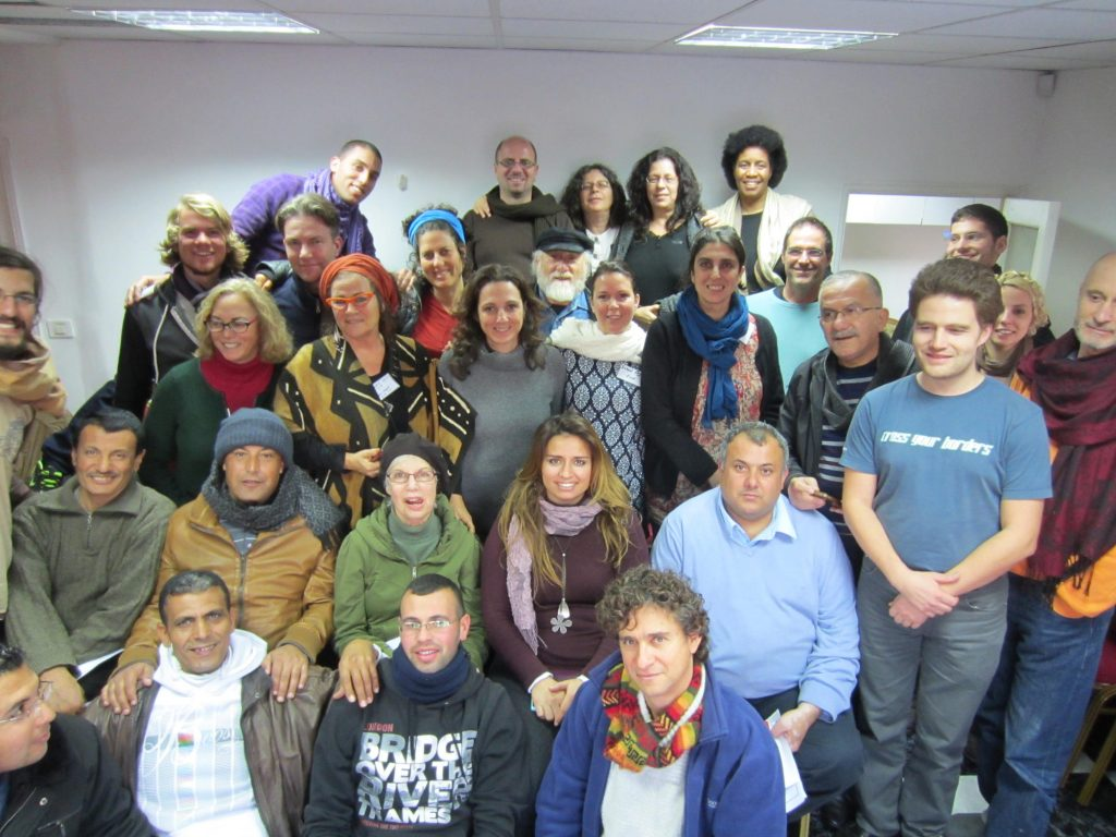West Bank workshop large group medium