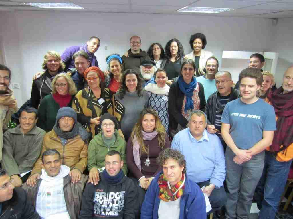 West Bank workshop large group medium