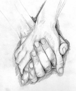 holding hands screen