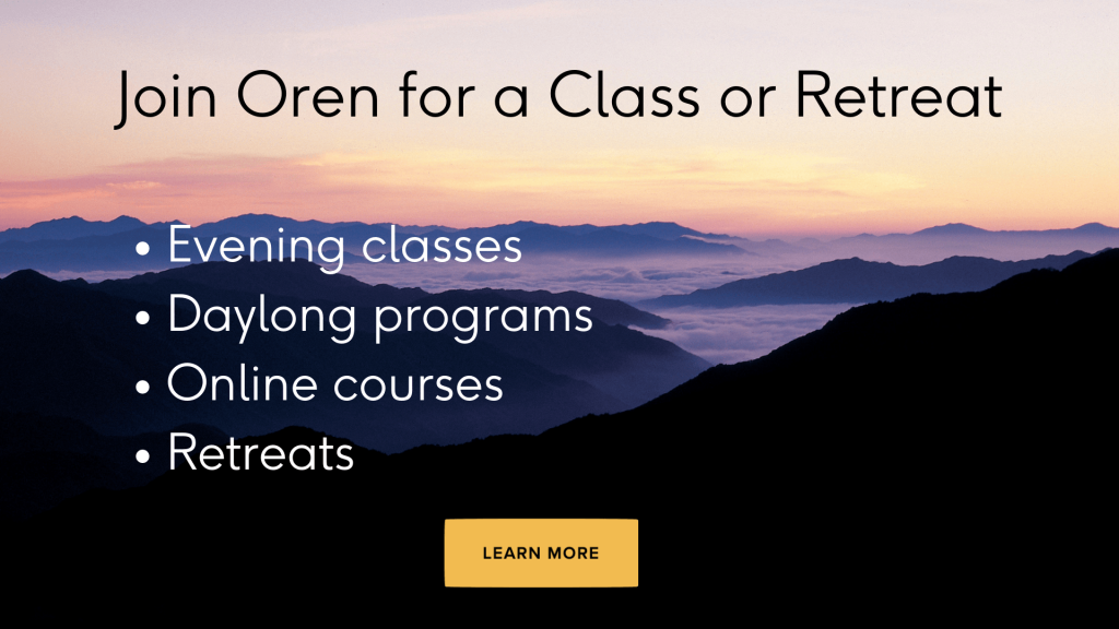 Join Oren for a class or retreat